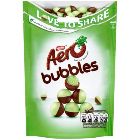 """Aero Bubbles (Peppermint)"", 113g (Nestle)"