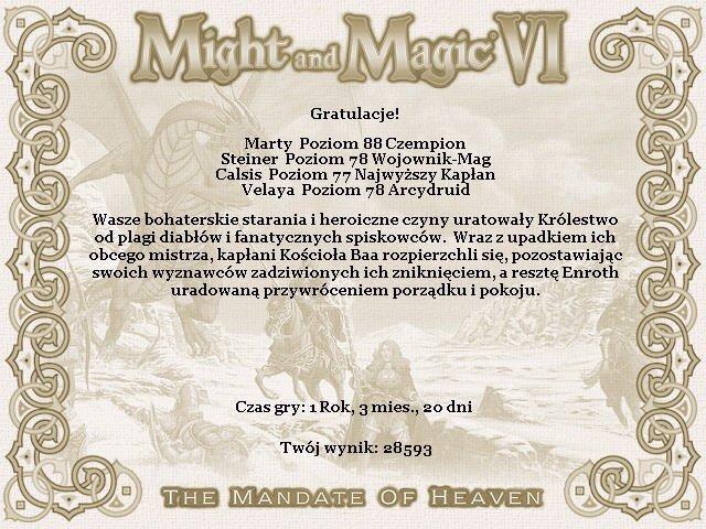 """Might and Magic VI: Mandate of Heaven"" (1998)"